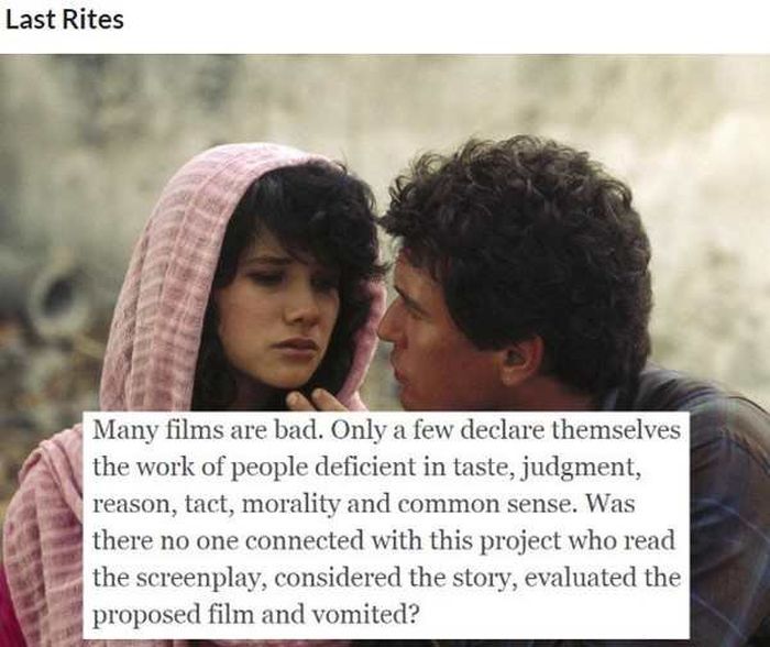 Savage Movie Burns Courtesy Of Roger Ebert