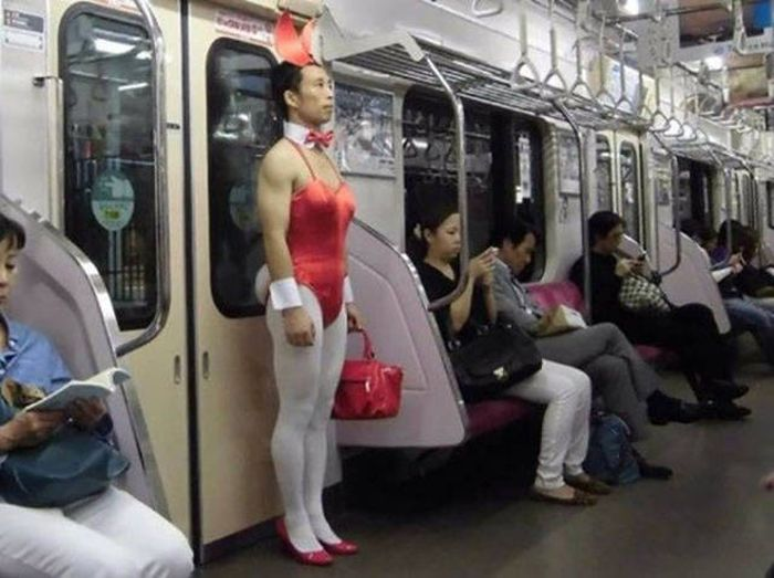 Subway Trains Are Like An Underground Incubator For Freaks