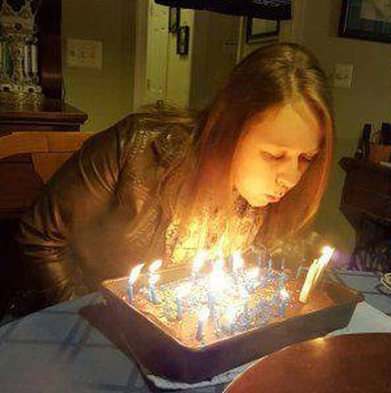 Happy Birthday Goes Up In Flames