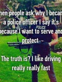 Cops Share Secrets From The Other Side