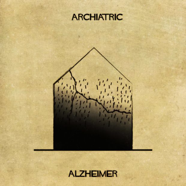 Explaining 16 Mental Illnesses And Disorders Using Architecture