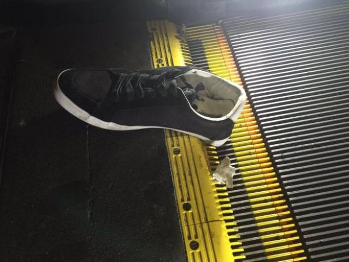 Escalators Really Are A Threat To Mankind