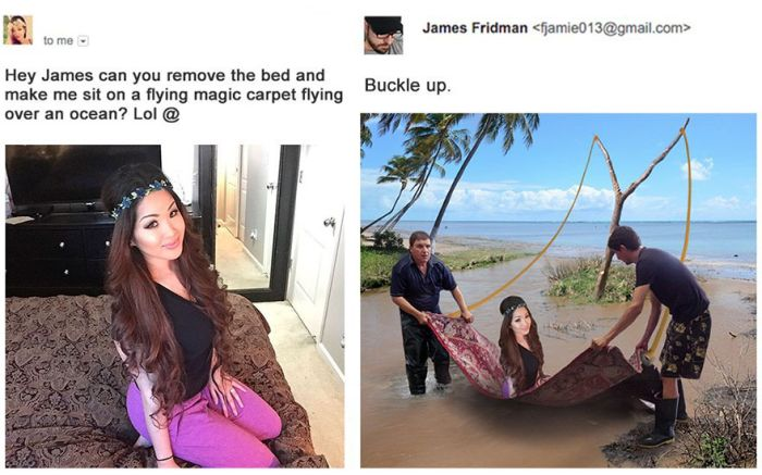 People Keep Asking This Photoshop Troll For Help