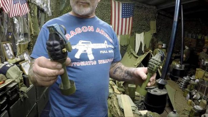 This Man Has More Weaponry Than Most Small Countries