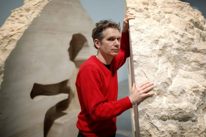 Artist From France Spends A Week Inside A 12-Ton Stone