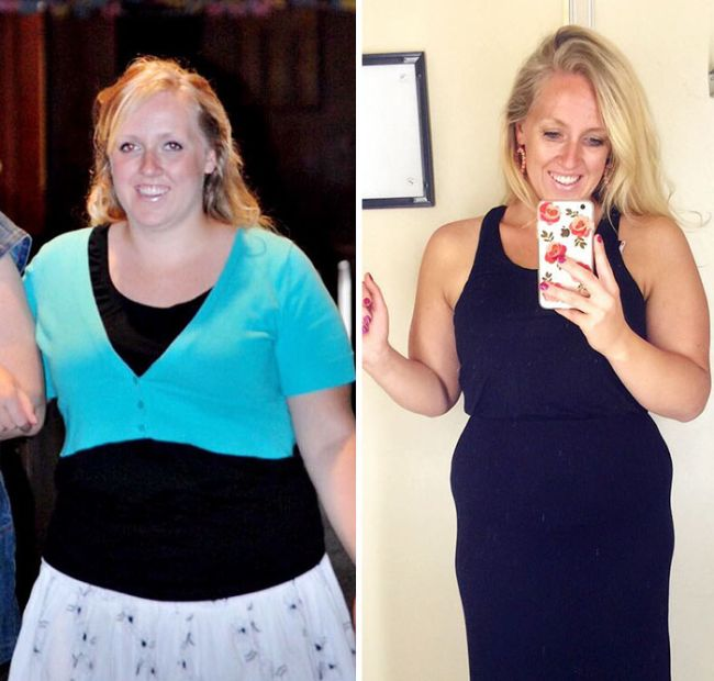 Mom Shows Off Before And After Pics Of 2 Pound Weight Loss