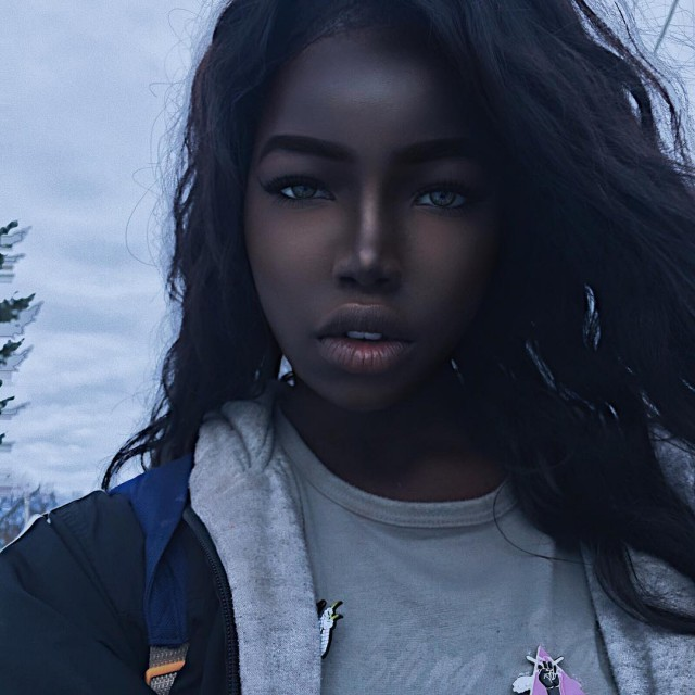 Meet The Model Who's Known As The Black Hannah Montana