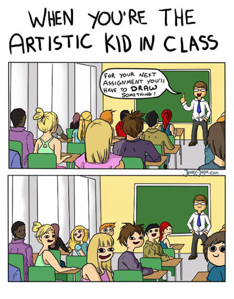 An Artist's Life Is Far From Easy