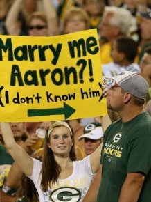 Hilarious Sports Signs Spotted At Games