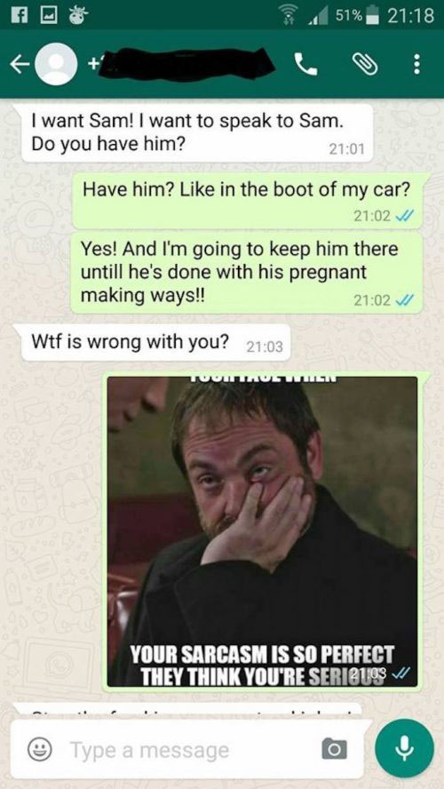 Pregnant Side Chick Gets Trolled After Texting The Wrong Number