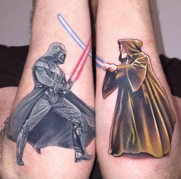 Now This Guy Has Taken Tattoo Art To A Whole New Level