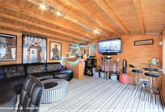 Mancaves Are Out And Barsheds Are In