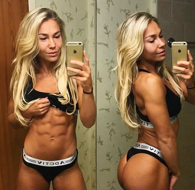 Fitness Model Achieves The Perfect Body By Giving Up Fad Diets
