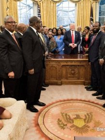 Kellyanne Conway Accused Of Disrespecting The Oval Office