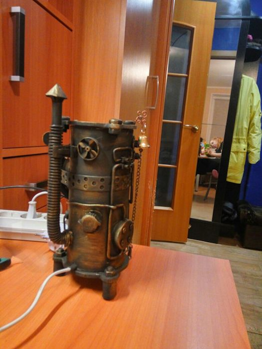 What A Steampunk Nightlight Looks Like