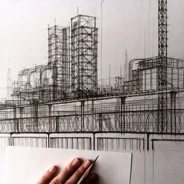 Impressive Architectural Sketches Show A University Student's Talent