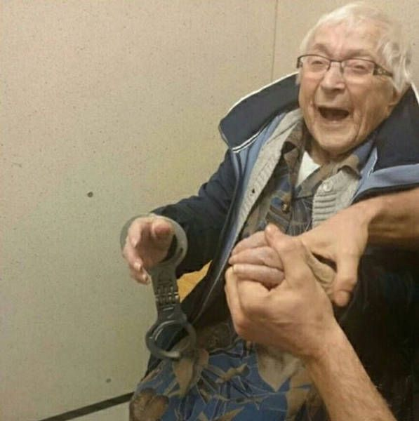 Elderly Woman Asks To Be Arrested At 99 Years Old