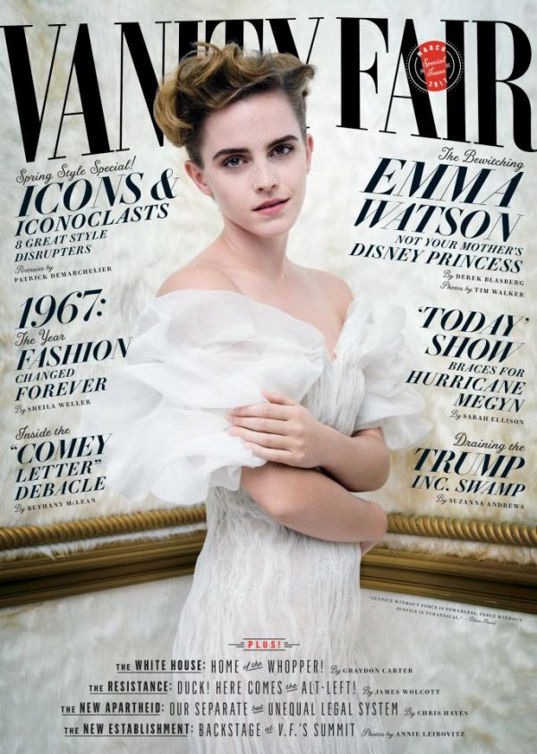 Emma Watson Goes Topless For Racy Vanity Fair Photo Shoot