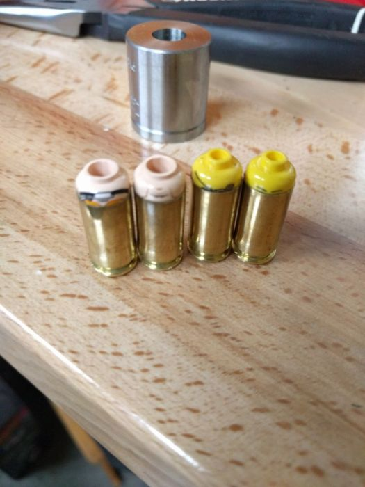 Lego Heads Happen To Make Excellent Bullets