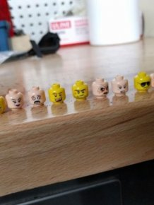Lego Heads Happen To Make Excellent Bullets