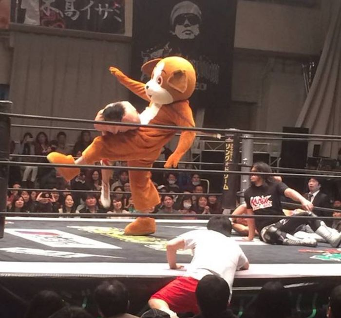 Japanese Wrestling Will Make Your Brain Hurt
