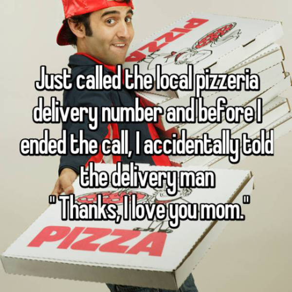 Delivery Guys Have A Very Awkward Job