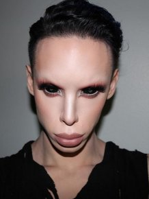 Man Spends Thousands On Plastic Surgery To Look Like A Genderless Alien