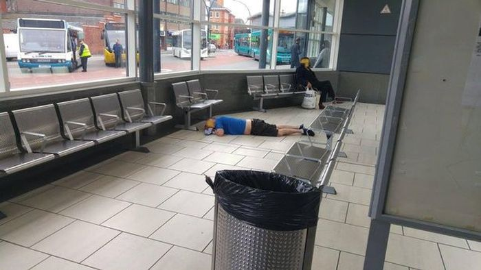 Bloody Needles Discovered At Wrexham Bus Station