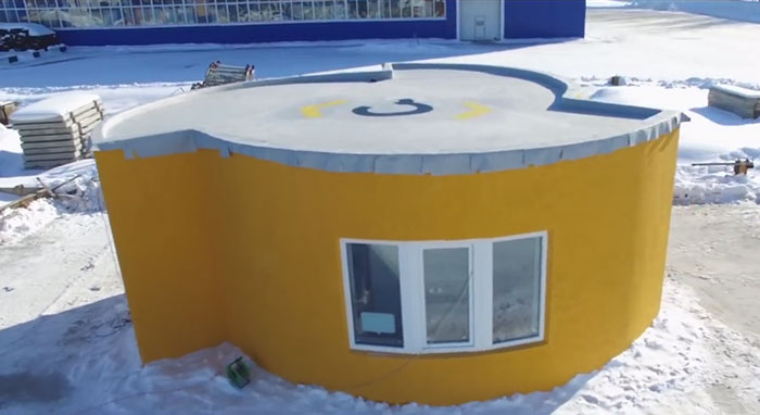 It Took 24 Hours To Print This House For Less Than $11k