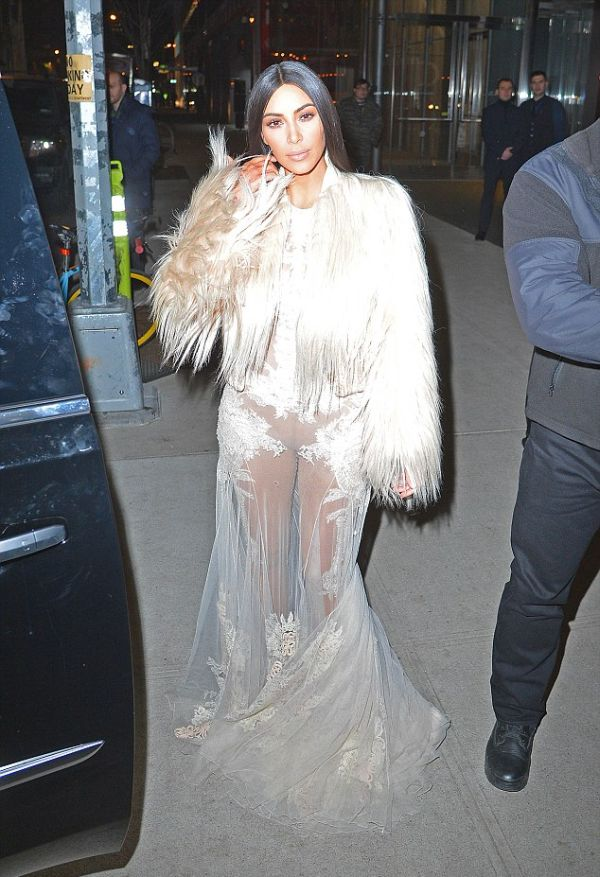 Kim Kardashian Spotted On The Set Of Ocean's Eight