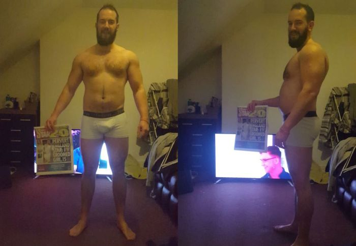 Guy Completely Transforms His Body In 15 Weeks