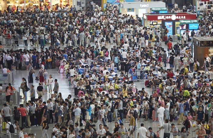 China Is Packed From End To End With People