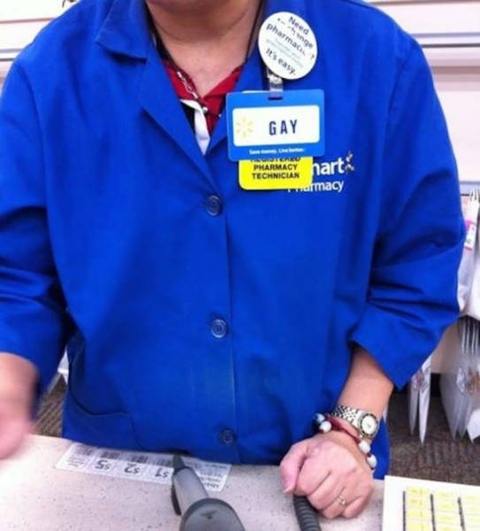 These Name Tags Seriously Can't Get Much Worse