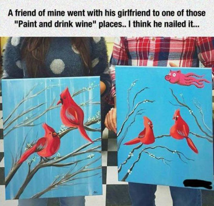 People Who Tried To Paint And Absolutely Nailed It