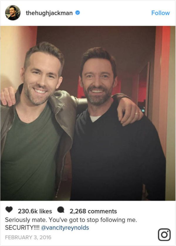 Ryan Reynolds Just Loves To Troll Hugh Jackman On Twitter