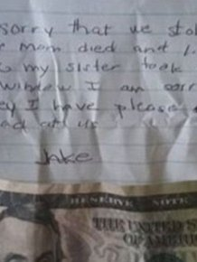 Woman Finds Heartbreaking Note On Her Door
