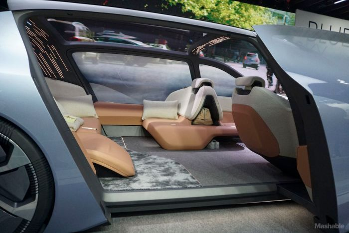This Self Driving Car Is As Luxurious As It Gets