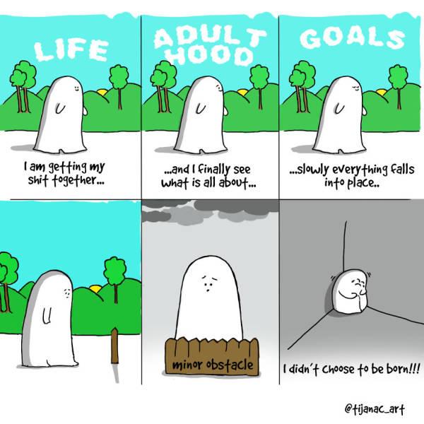 The Irony Of Everyday Life Shown Through Comics