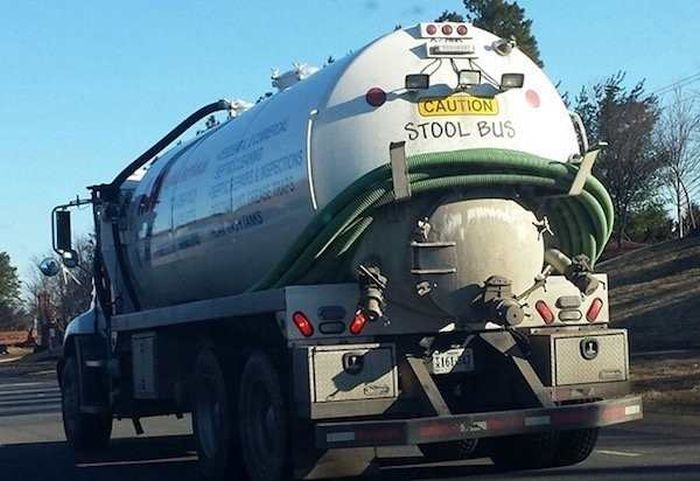 Funniest Things Spotted On Trucks