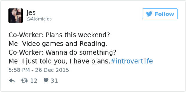 Be Proud Of Your Inner Introvert