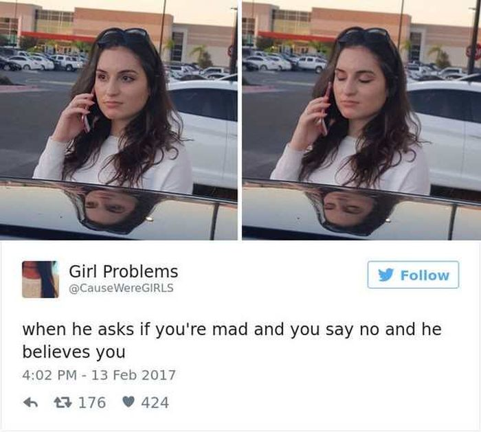 Hilarious Tweets About What It's Like To Be A Woman