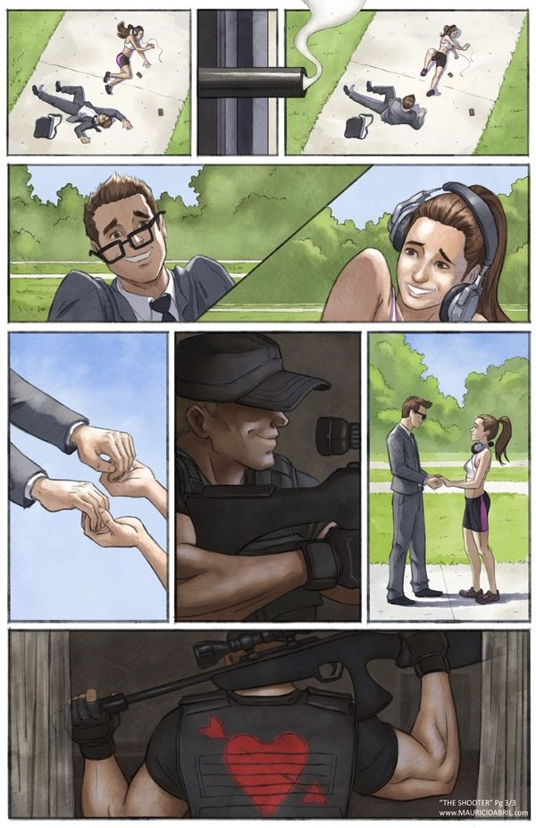 Comic Shows The Life Of A Modern Day Cupid