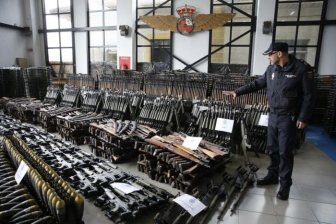 Shocking Pictures Reveal An Arsenal Of 10,000 Weapons