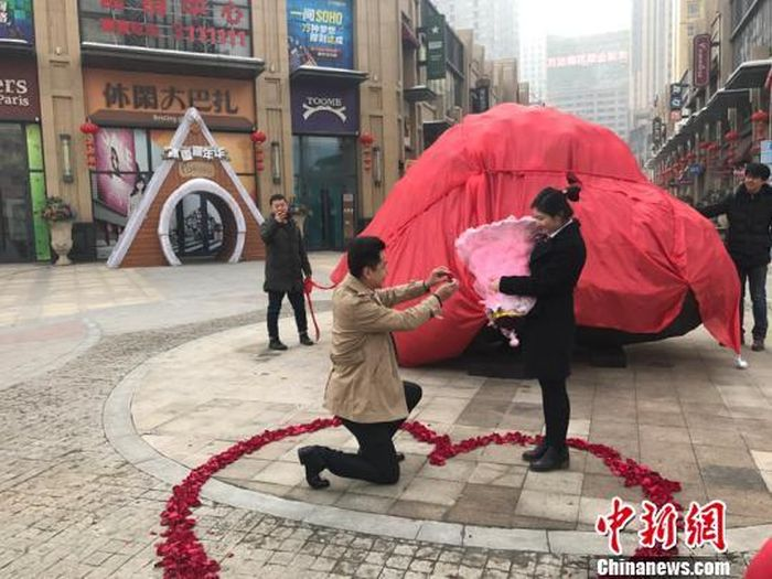 Chinese Man Buys Meteorite For Marriage Proposal