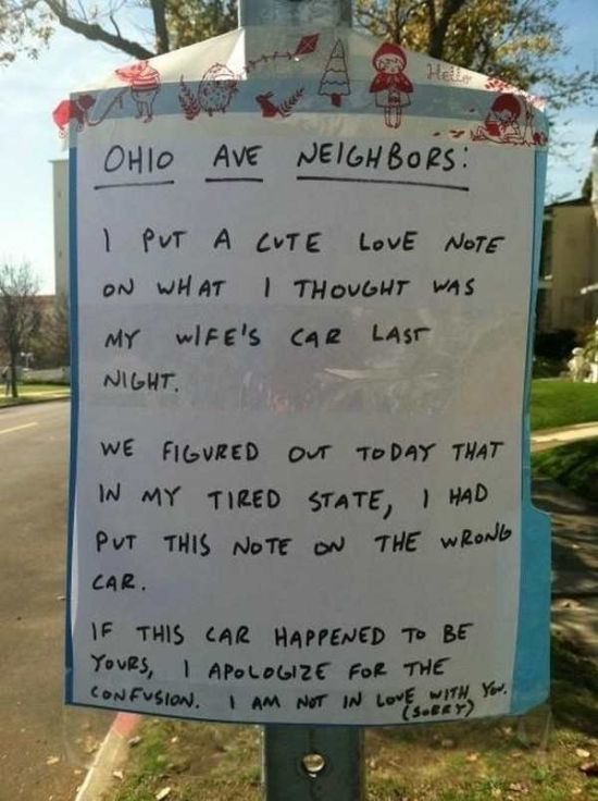 Extremely Funny Signs Found In Ordinary Yards