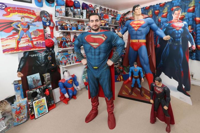 This Man Is The World's Biggest Superman Fan
