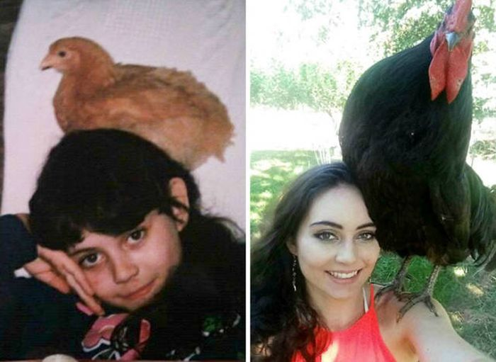Growing Up Can Do Some Really Weird Things To People