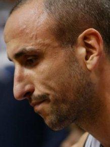 Manu Ginobili Botches A Big Time Free Throw