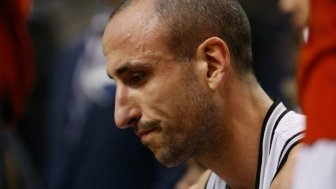 Manu Ginobili Botches A Big Time Free Throw