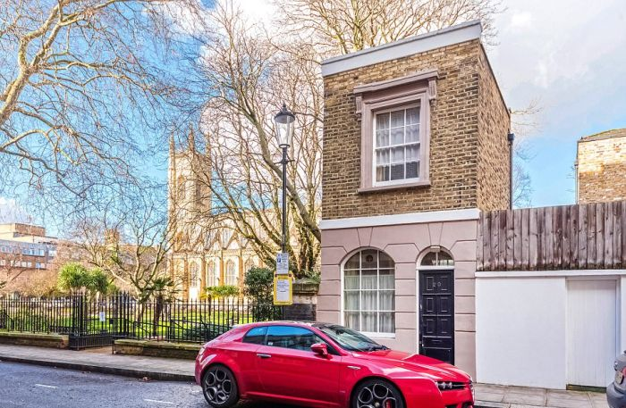 A Look At One Of London's Smallest Houses